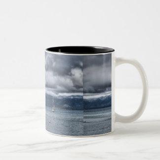 Storm Over The Lake Coffee Mug