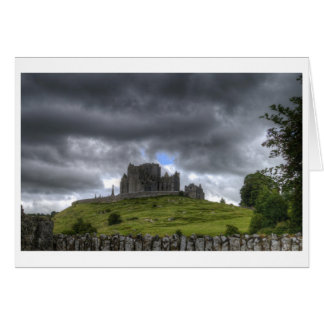 Storm Over The Rock of Cashel Card