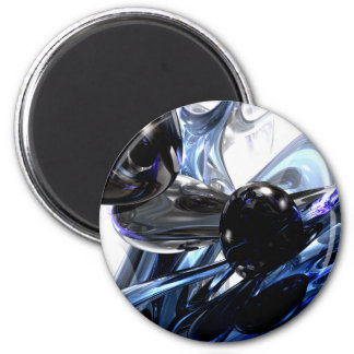 Storm Shadow Abstract Magnet