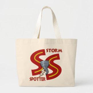 Storm Spotter Jumbo Tote Bag
