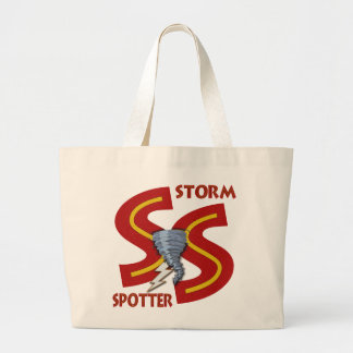 Storm Spotter Tote Bags
