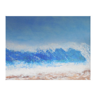 Storm swell canvas print