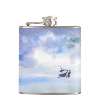 Storm-Tossed Ship Flask