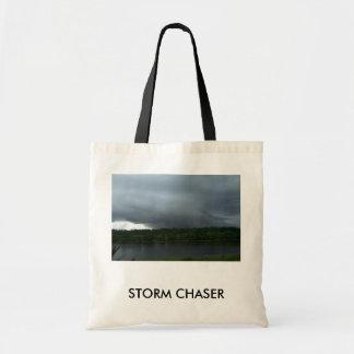 Storm Budget Tote Bag