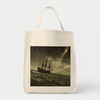 Storm Grocery Tote Bag