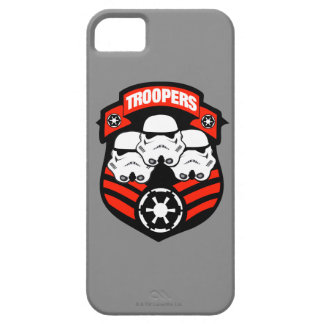 Storm Troopers Badge B iPhone 5 Cases