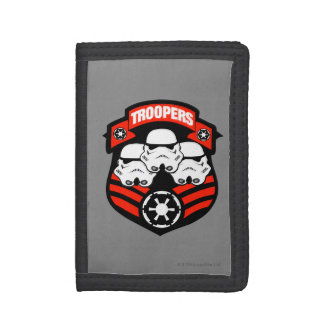 Storm Troopers Badge B Tri-fold Wallets
