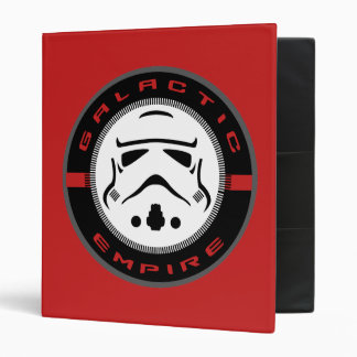 Storm Troopers Icon B 3 Ring Binders