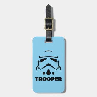 Storm Troopers Line Art Bag Tags