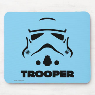 Storm Troopers Line Art Mouse Pad