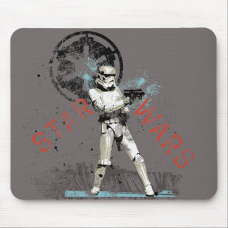 Storm Troopers Retro Mouse Pad