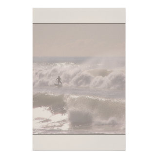 Storm Waves Surfer Stationery