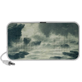 Storm, Wind, Rocks, Waves Protect Cell  Speakers