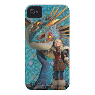 Stormfly And Astrid iPhone 4 Cases