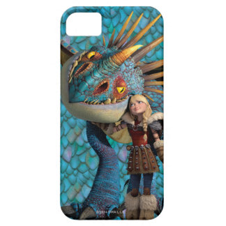 Stormfly And Astrid Pattern Barely There iPhone 5 Case