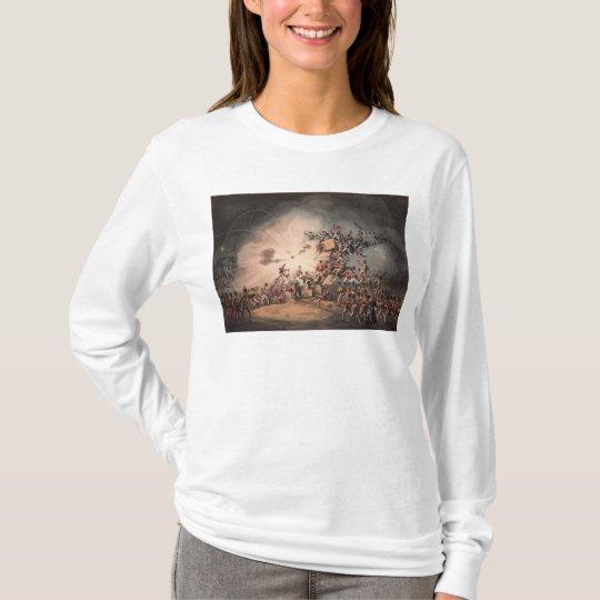 Storming of Ciudad Rodrigo, aquatinted by T-Shirt