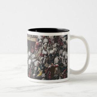 Storming of Delhi Two-Tone Coffee Mug