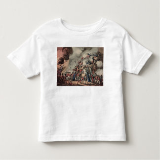 Storming of St. Sebastian, engraved by Thomas Toddler T-Shirt