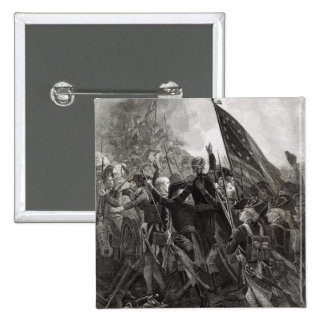 Storming of Stony Point, July 1779 15 Cm Square Badge