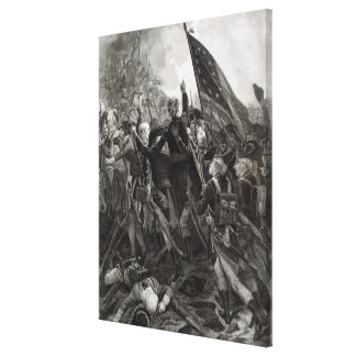 Storming of Stony Point, July 1779 Canvas Print