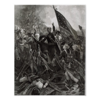 Storming of Stony Point, July 1779 Poster
