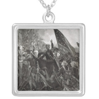 Storming of Stony Point, July 1779 Silver Plated Necklace