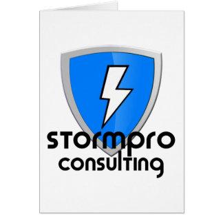 StormPro Merchandise Greeting Card