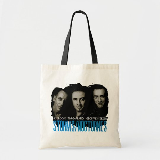 Storms/Nocturnes canvas bag