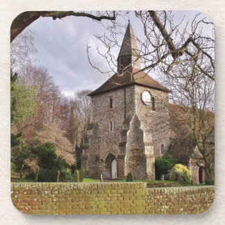 Stormy Church Coasters
