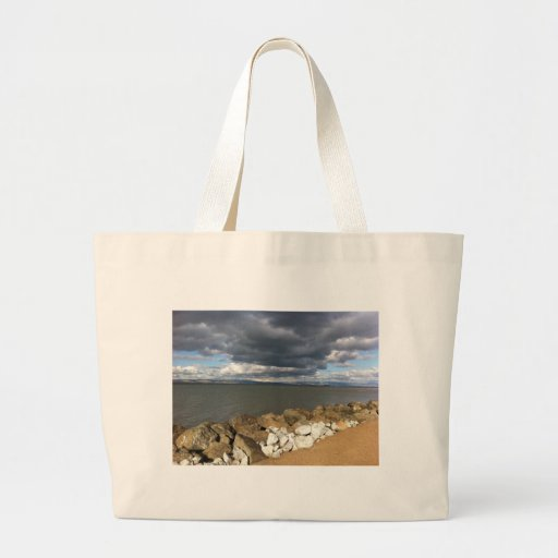 Stormy Clouds over San Francisco Bay Bag