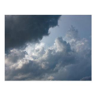Stormy, Cloudy Sky Postcard