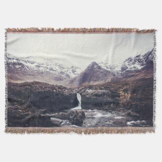 Stormy Fairy Pools | Blanket