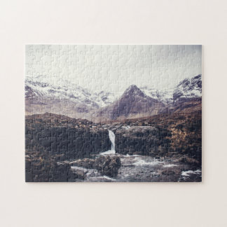 Stormy Fairy Pools | Puzzle