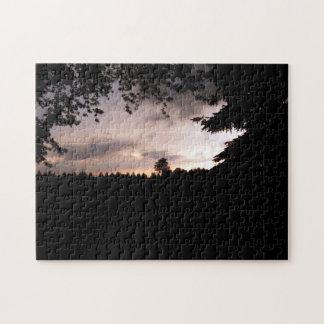 Stormy Night sky Jigsaw Puzzle