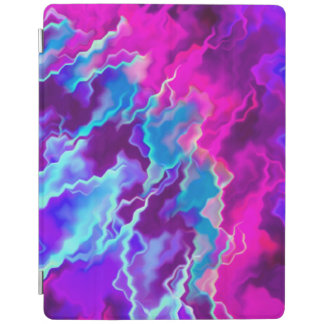 Stormy Pink Purple Teal iPad Cover