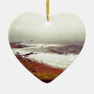 Stormy Sea Christmas Ornament