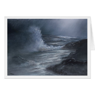 Stormy Sea - Greeting Card