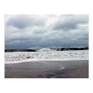 Stormy Seas of the Atlantic Ocean Postcard