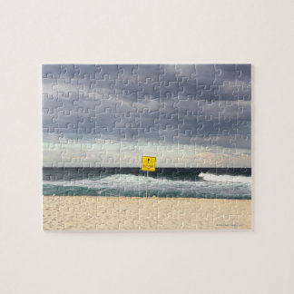 Stormy skies over Bronte Beach Jigsaw Puzzle
