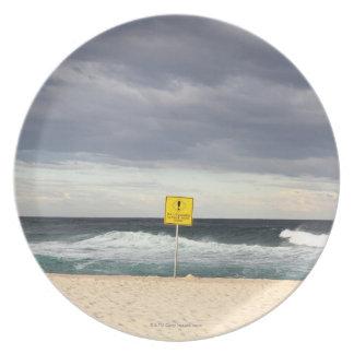 Stormy skies over Bronte Beach Plate