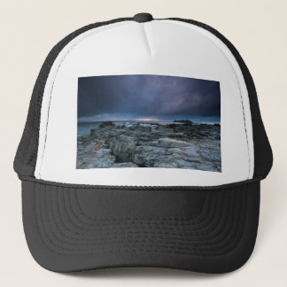 Stormy skies trucker hat