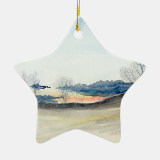 Stormy Sky Christmas Ornament