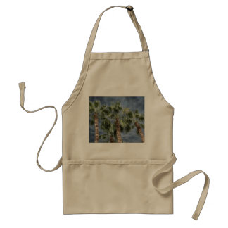 Stormy Sky Palm Trees Aprons