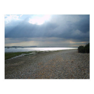 Stormy Sky & Sultry Sea Postcard