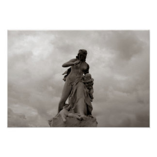Stormy Statue Print