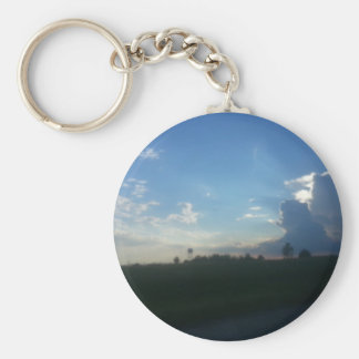Stormy Summer Drive Key Chain