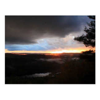 Stormy Sunset, Jacobs Hill, Tully River, Royalston Post Cards