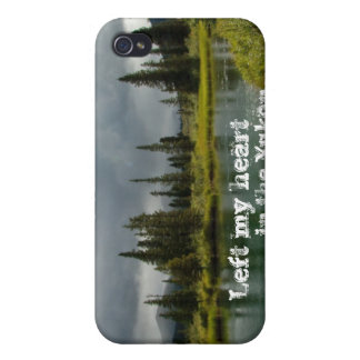 Stormy Tranquility; Yukon Territory Souvenir iPhone 4 Case