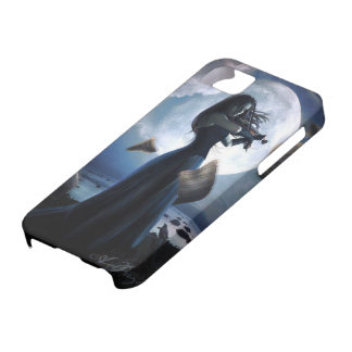 Stormy Violinist Blues Gothic iPhone 5 Cover