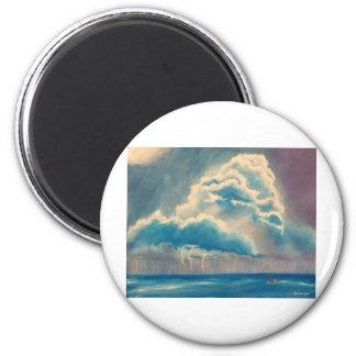 Stormy Weather Refrigerator Magnet